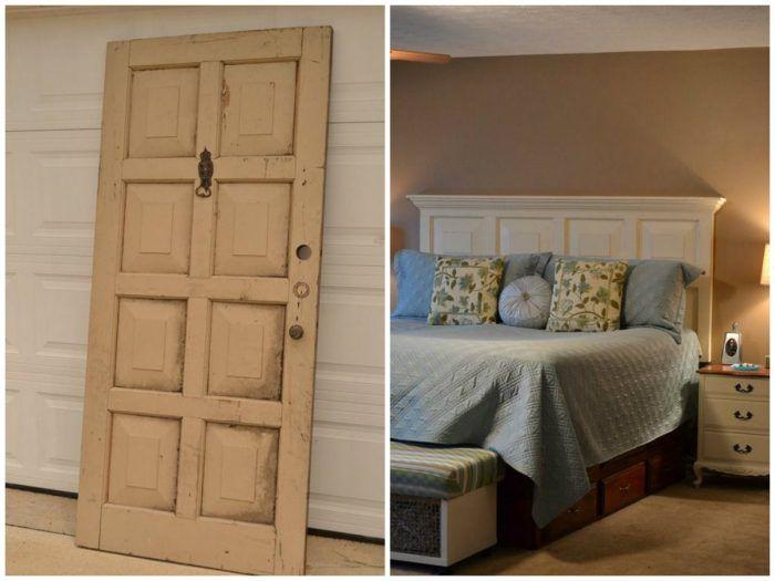 10 diy para reciclar puertas antiguas de madera la On reciclar puertas antiguas