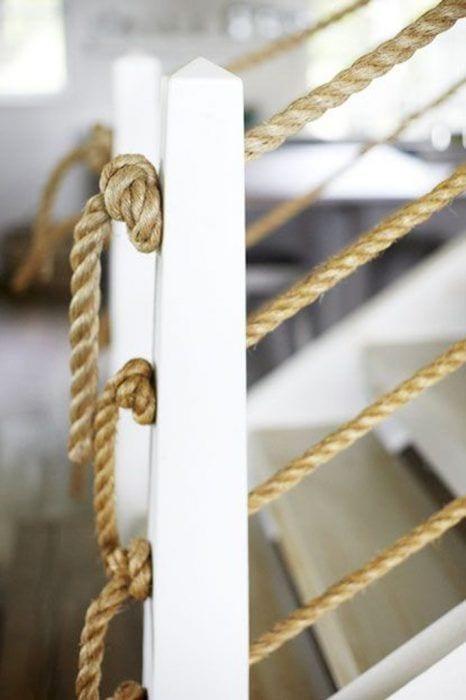Barandilla de cuerda