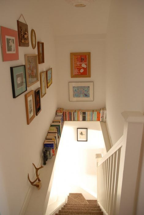 Decoraci n de escaleras interiores la cartera rota What to do with an empty room in your house