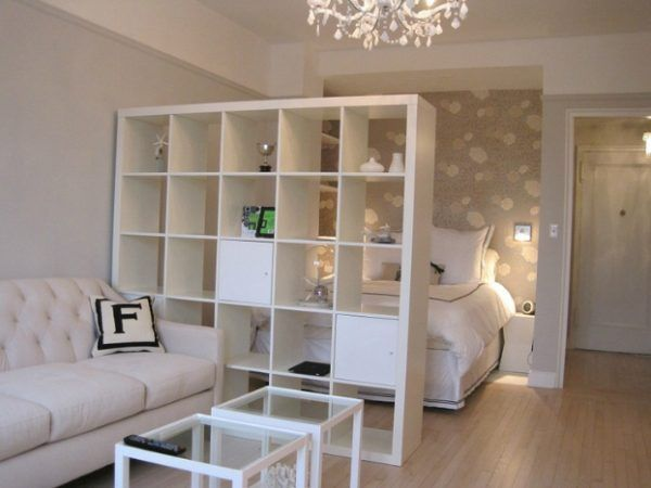 Separacion De Ambientes Guia Completa Para Separar Espacios En Tu Casa - Estanterias-separadoras-de-ambientes