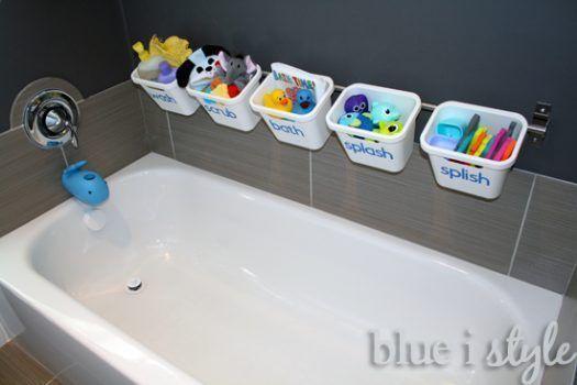 Ideas para baños pequeños - barra de ducha 2