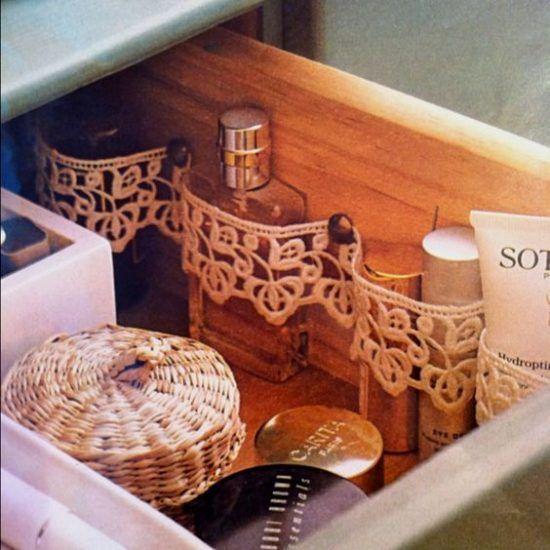 Ideas para baños pequeños - cajones