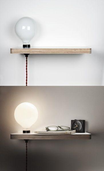 L mparas de mesita de noche 6 ideas para tu habitaci n - Lamparas de mesa originales ...