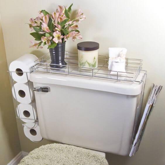 Organizar baños pequeños