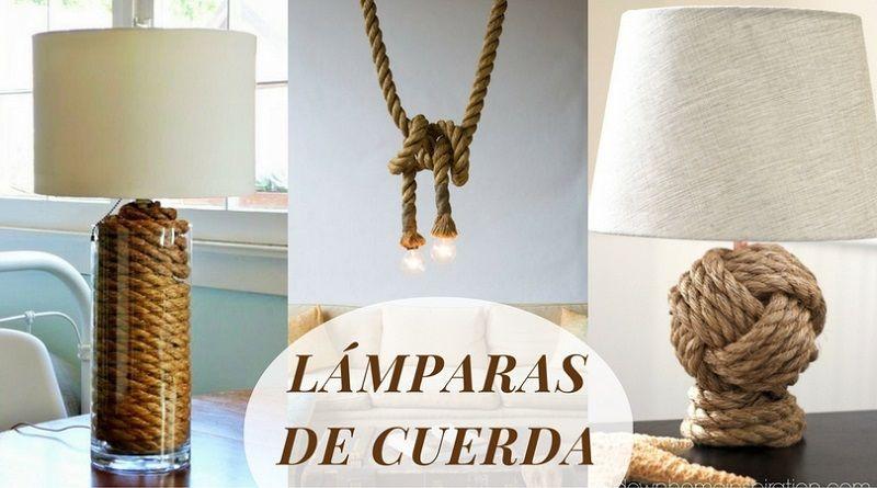 Lámparas de cuerda: 11 diseños muy originales