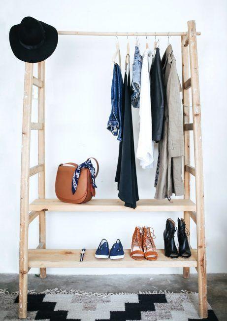 Percheros originales las mejores ideas para colgar tu ropa - Burro para colgar ropa ...