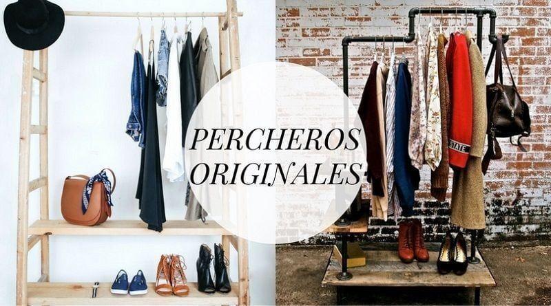 Percheros originales: las mejores ideas para colgar tu ropa