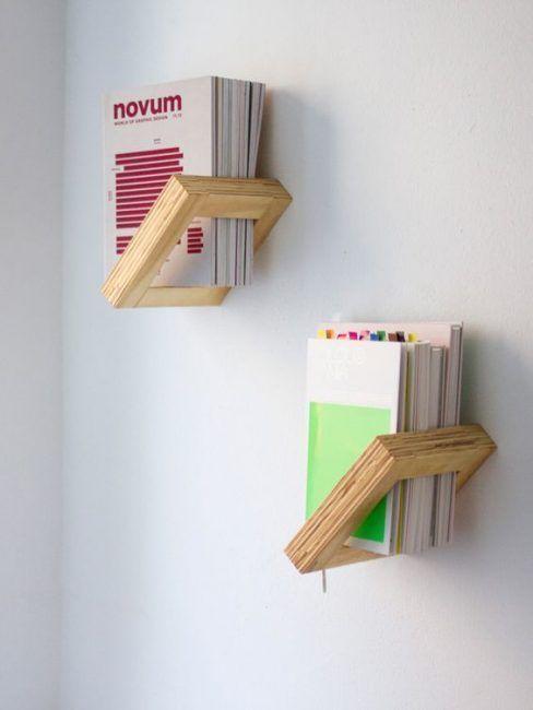 Estantes originales para libros