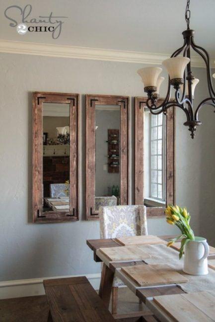 Ideas para reciclar espejos antiguos