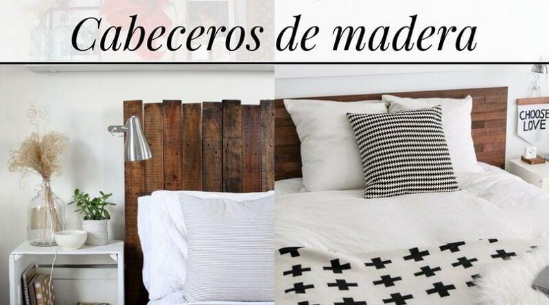 Cabeceros de madera para la cama diy decoraci n - Cabecero de cama de madera ...