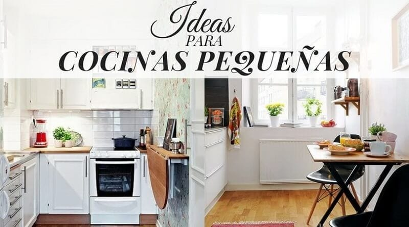 Ideas para cocinas peque as for Ideas decoracion cocina