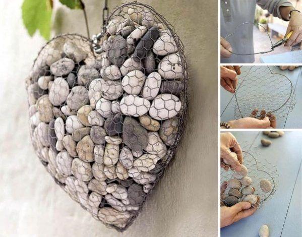 Decoración con piedras