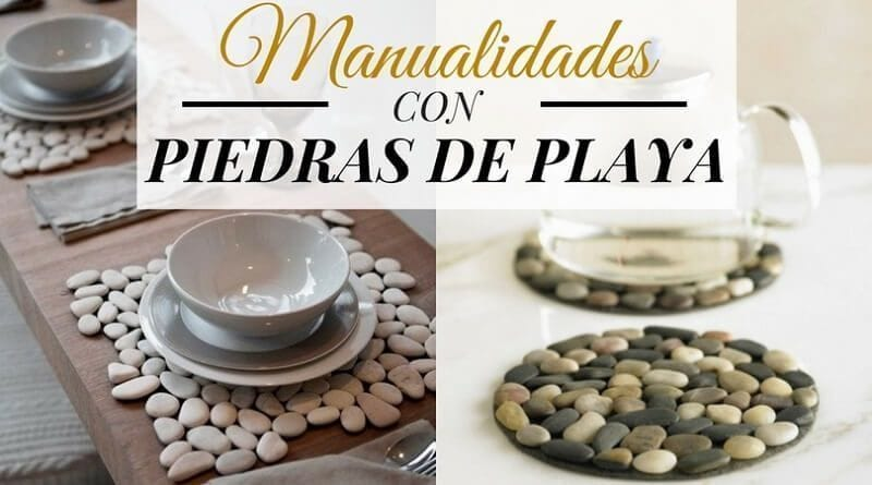 Manualidades con piedras de playa diys para decorar tu casa for Manualidades decoracion casa