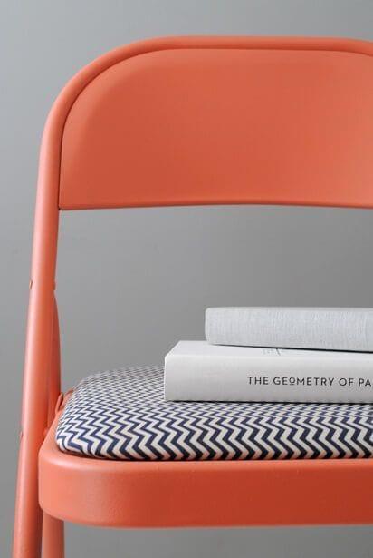 Pintar sillas plegables