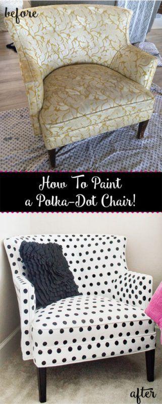 Pintar sillón antiguo
