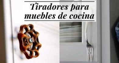 Tiradores para cajones 10 alternativas originales para - Tiradores armarios cocina ...