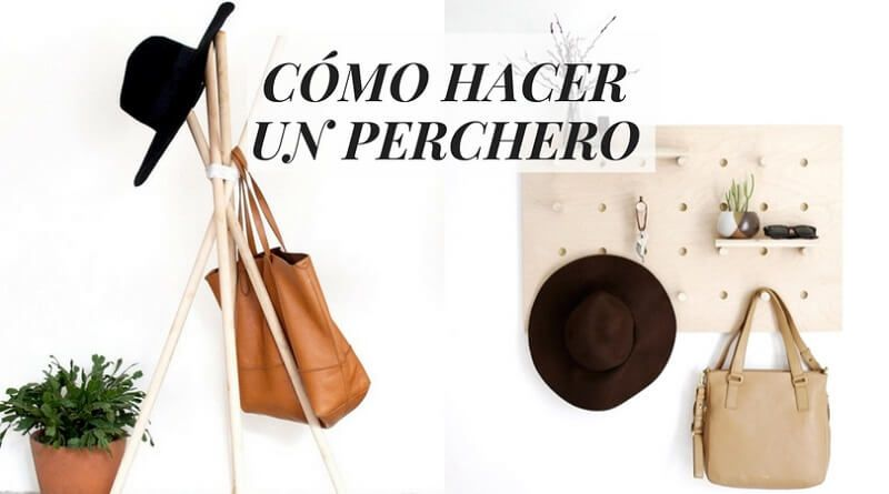 C mo hacer un perchero la cartera rota for Que es un perchero