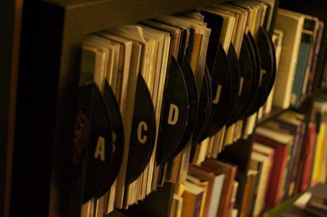 Clasifica tus discos con vinilos