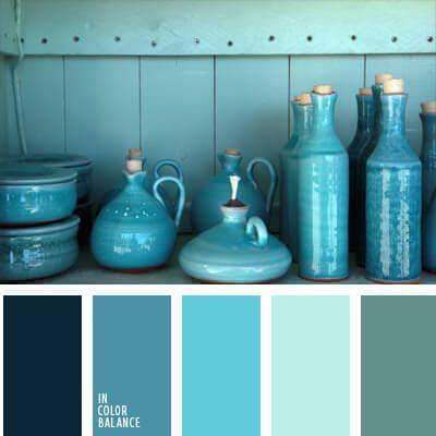 Colores para decoracion marinera