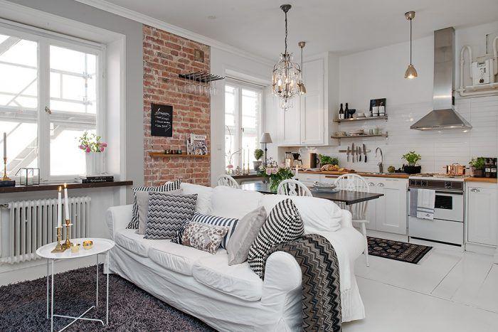 Como decorar una casa pequeña con colores claros