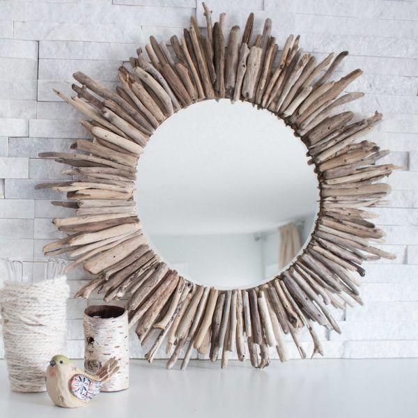 Decoración marina para espejos