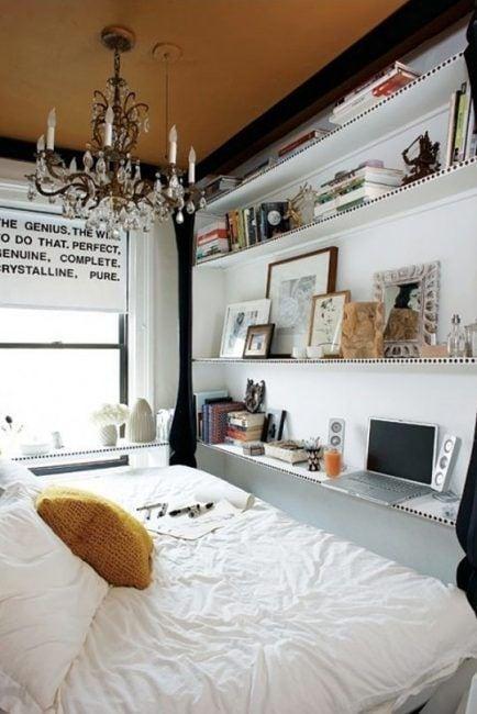 Habitación en apartamentos pequeños