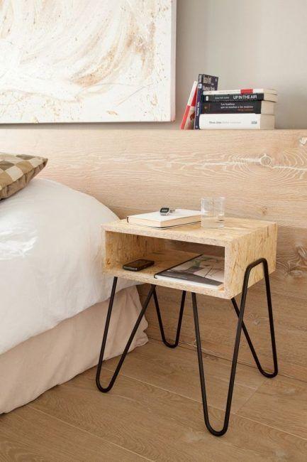 Mesitas de noche modernas dormitorios dise o for Mesitas de noche kenay