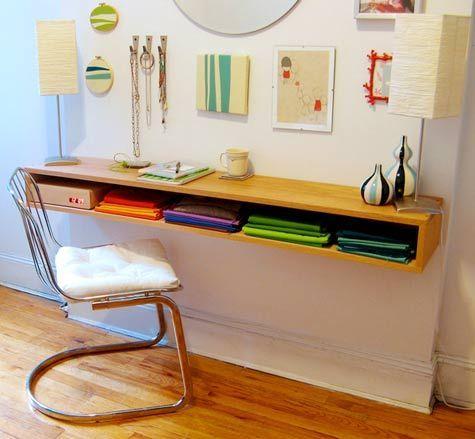 Muebles para colocar en casas pequeñas