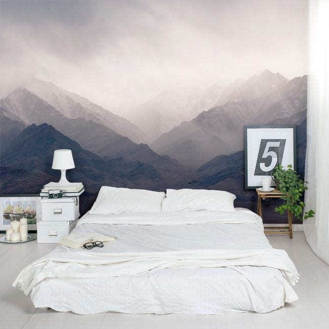 Mural para dormitorio