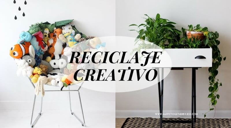 Reciclaje creativo ideas para decorar reciclando la for Ideas para decorar la casa con reciclaje