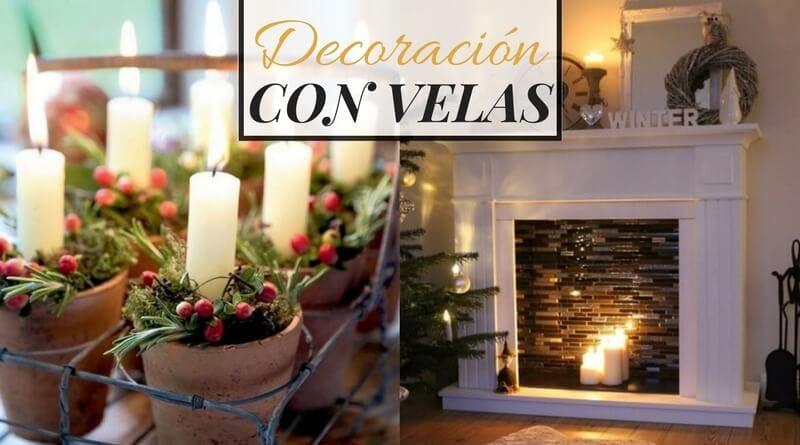 16 ejemplos de decoraci n con velas la cartera rota - Decoracion con velas ...
