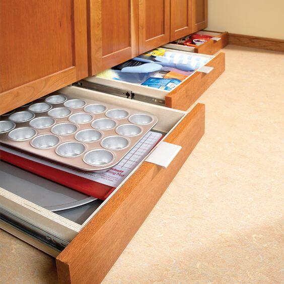 Ideas de almacenaje en la cocina