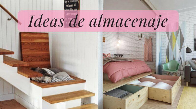 10 ideas de almacenaje para ganar espacio extra en tu casa