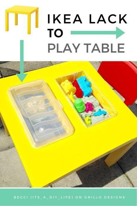 Ikea hack para niños