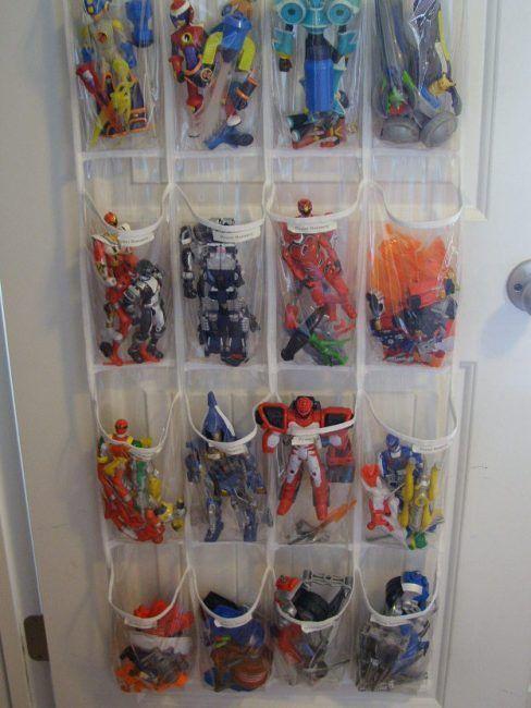 Organizador de zapatos para guardar muñecos