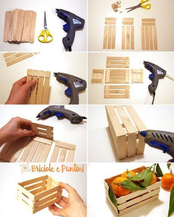 Cajita con espátulas de madera