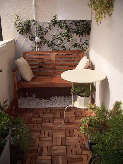 Como decorar una terraza pequeña