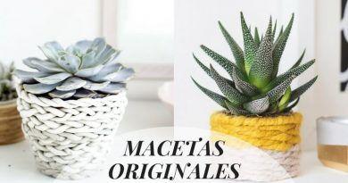 Macetas originales para tu casa