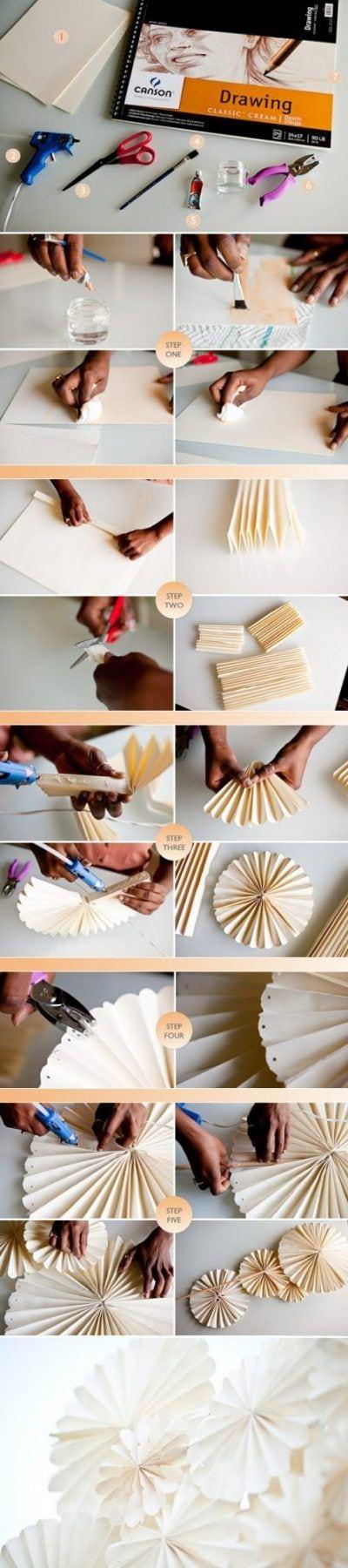 Cómo hacer guirnaldas de cartón
