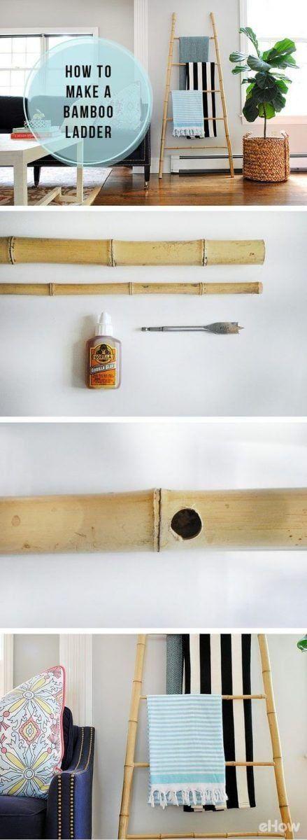 Decorar casa con bambú