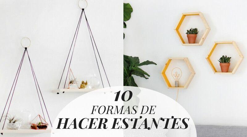10 formas de hacer estantes