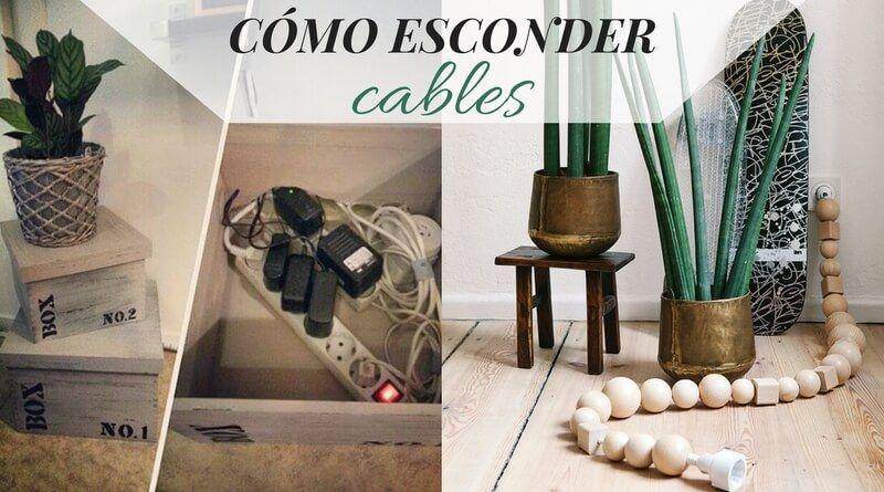 Cómo esconder cables