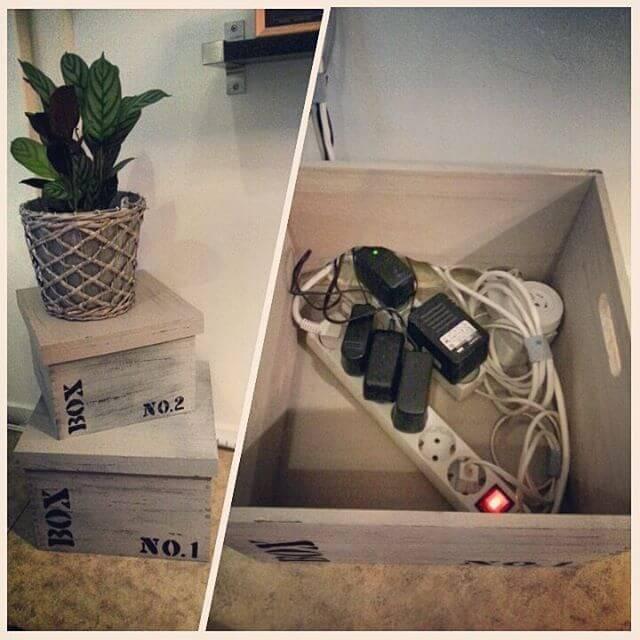 C mo esconder cables trucos para disimular los cables de tu casa - Caja para ocultar cables ...