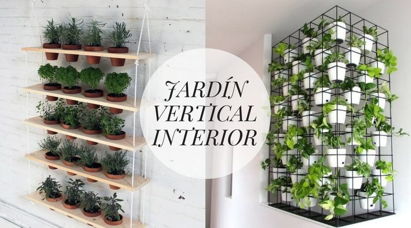 La cartera rota diy ideas de decoraci n consejos para - Jardin vertical interior ...