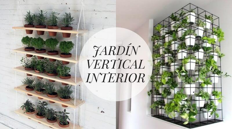 Jardín vertical interior: 10 ejemplos para decorar tu casa