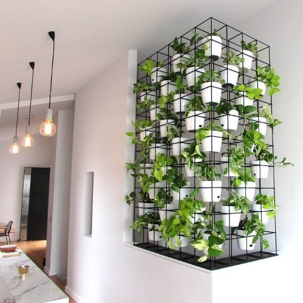 Jard n vertical interior 10 ejemplos para decorar tu casa for Jardin vertical interior casa