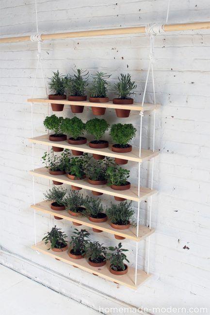 Macetas para jardín vertical