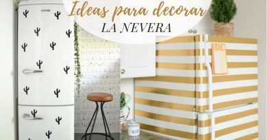 Ideas para decorar la nevera