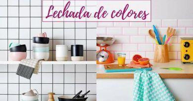 Lechada de colores para decorar paredes