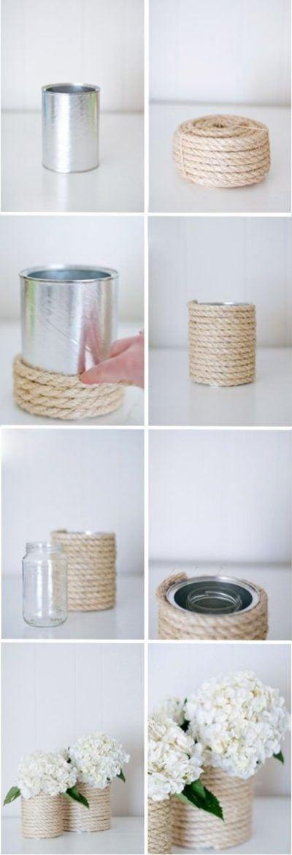 Cómo decorar latas de conservas